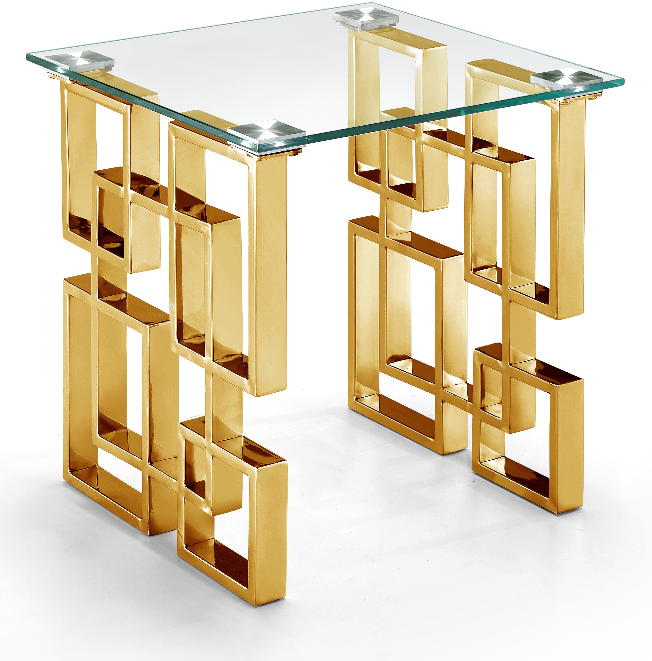 Pierre Gold End Table