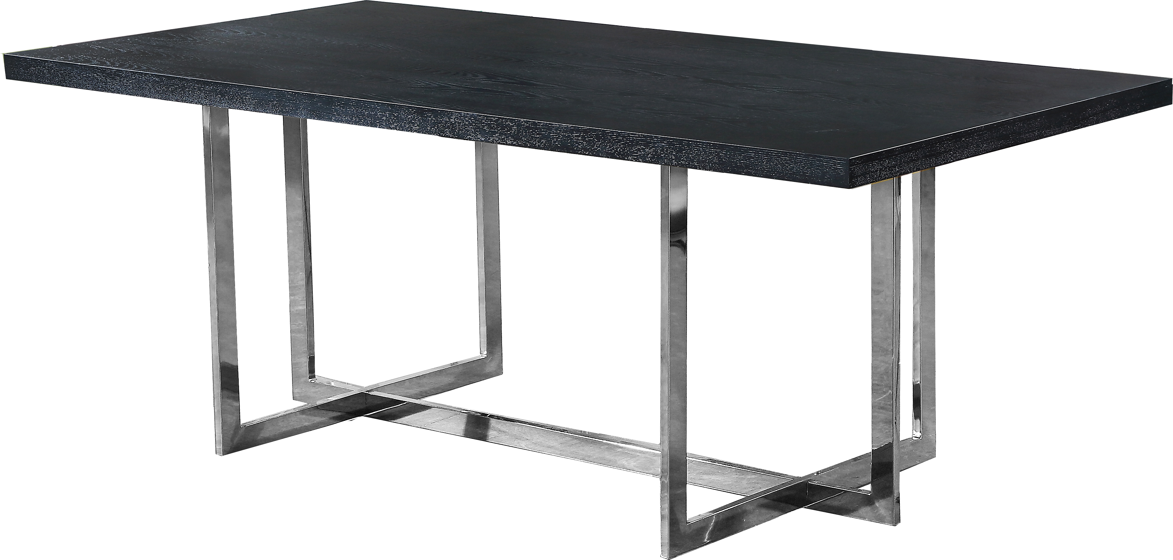 Elle Chrome Dining Table